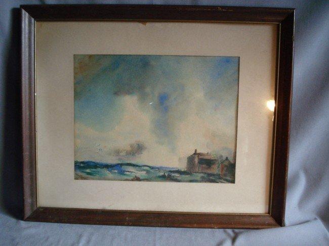 251: Watercolor By Frances Fleet