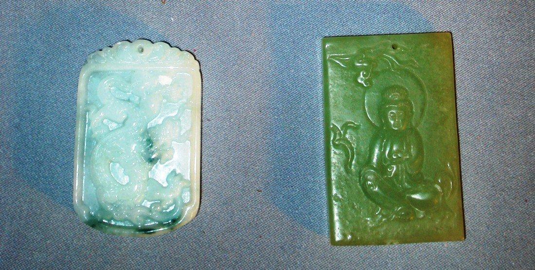 19: Carved Jade Pendants