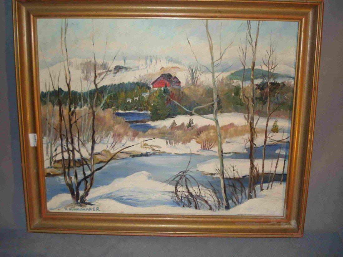 249: Two Oil Paintings