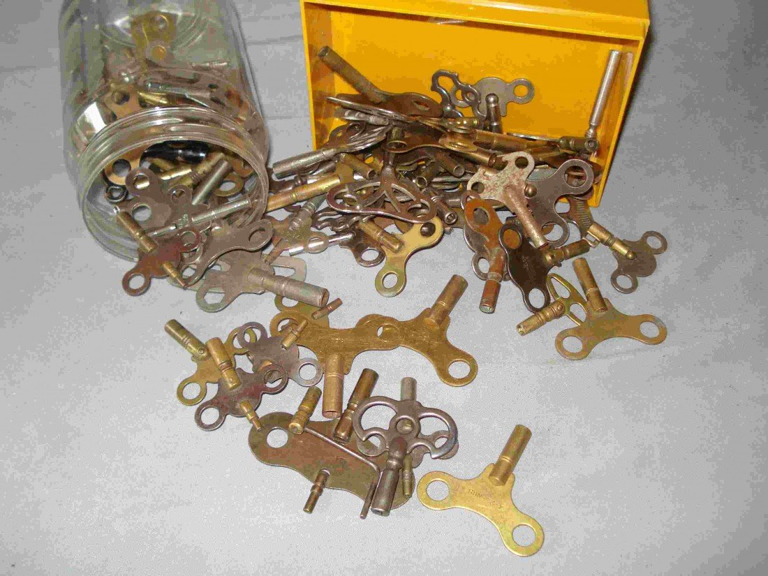 297: Many Clock Keys