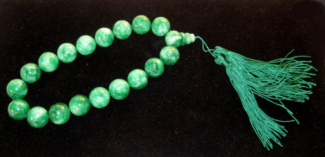 3: Green Jade Beaded