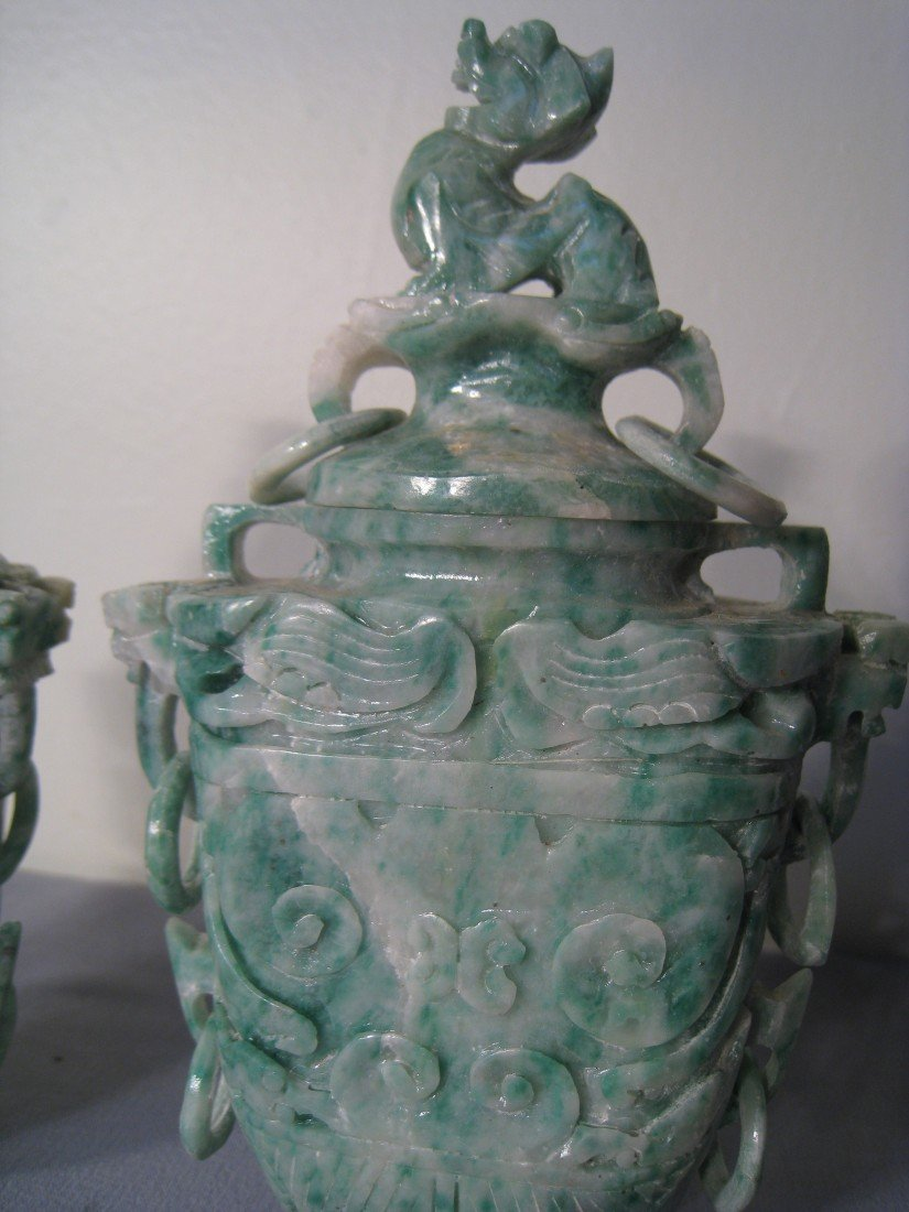 19: Jade Vases - 3