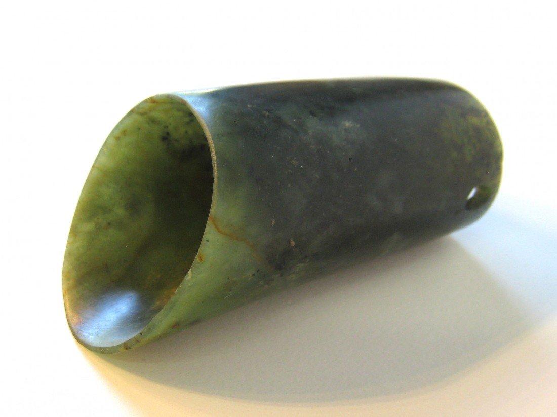 24: Nephrite Jade Hair Piece