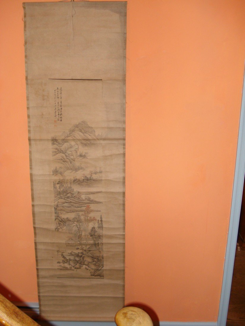 16: A Chinese Scroll