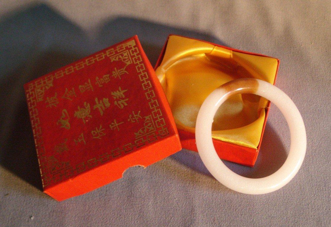 8: White Jade Bracelet