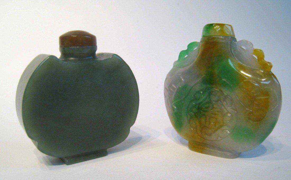 23: Pair Of Jade Snuff Bottles