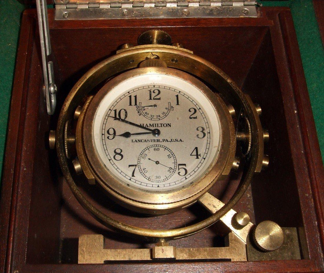 303: Hamilton Chronometer In Box