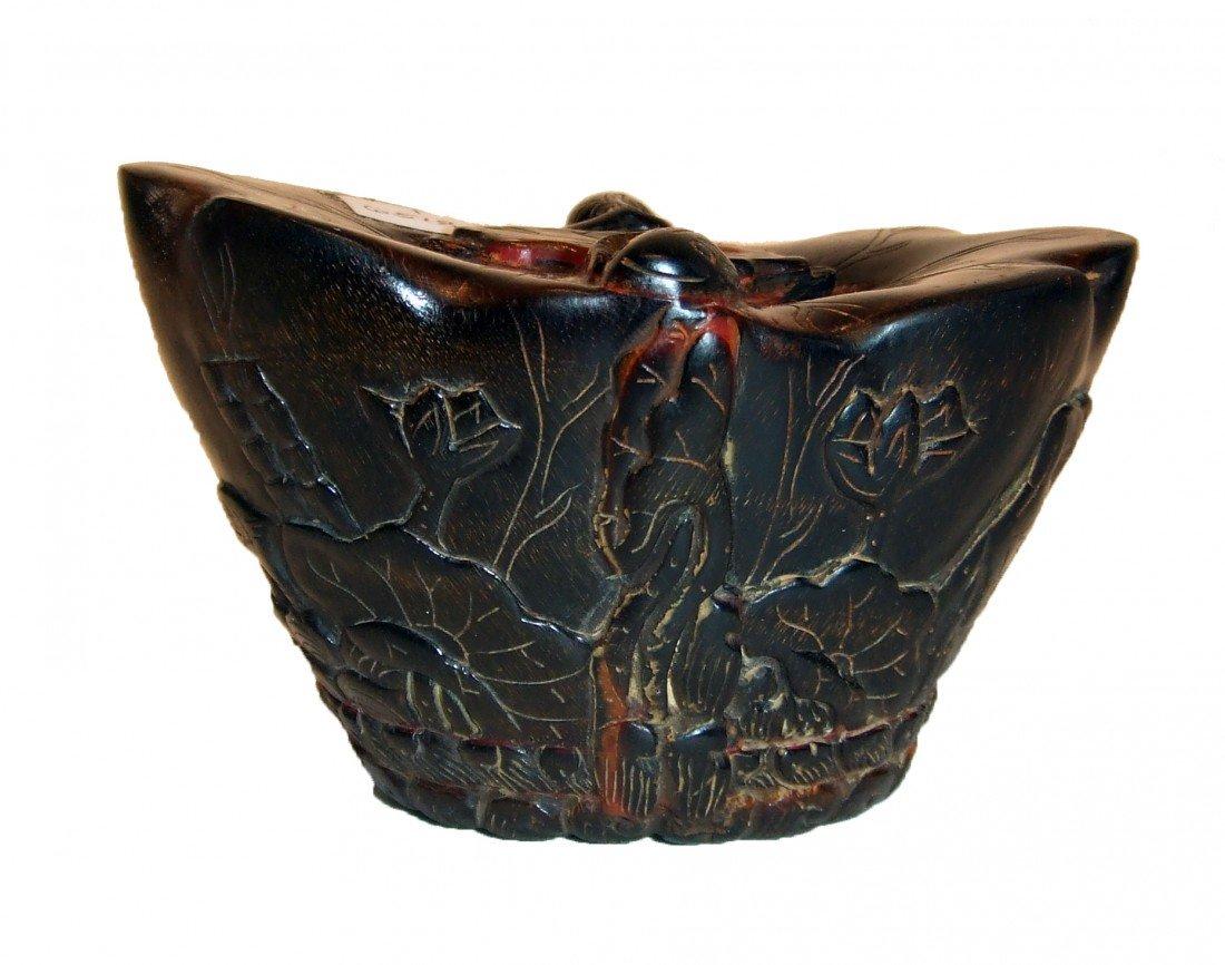 3: Carved Horn