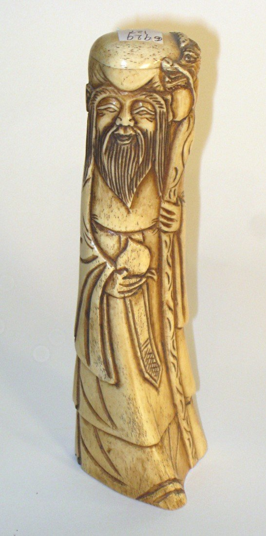 4: Carved Bone Or Ivory Item