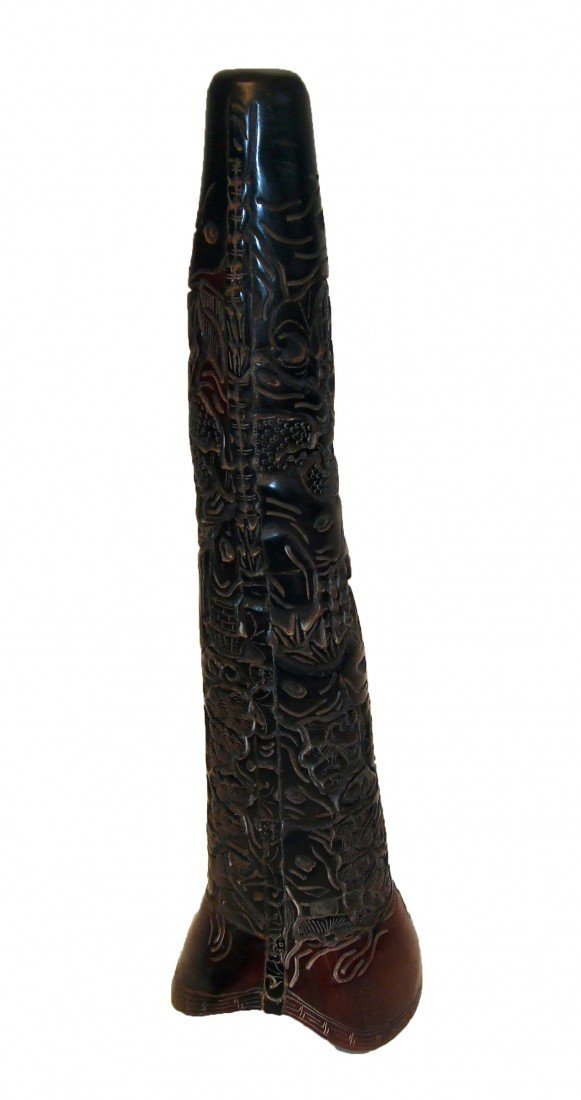 """6: Awesome 17 1/2"""" Carved Horn"""
