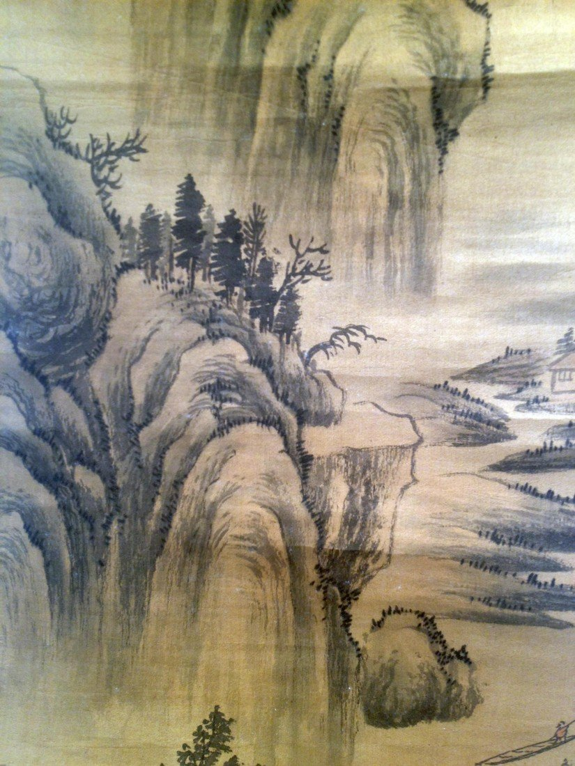 66: Chinese Watercolor Scroll