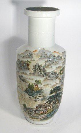 Polychrome Vase