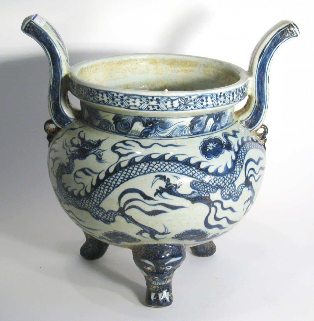 175: Porcelain Incense Burner