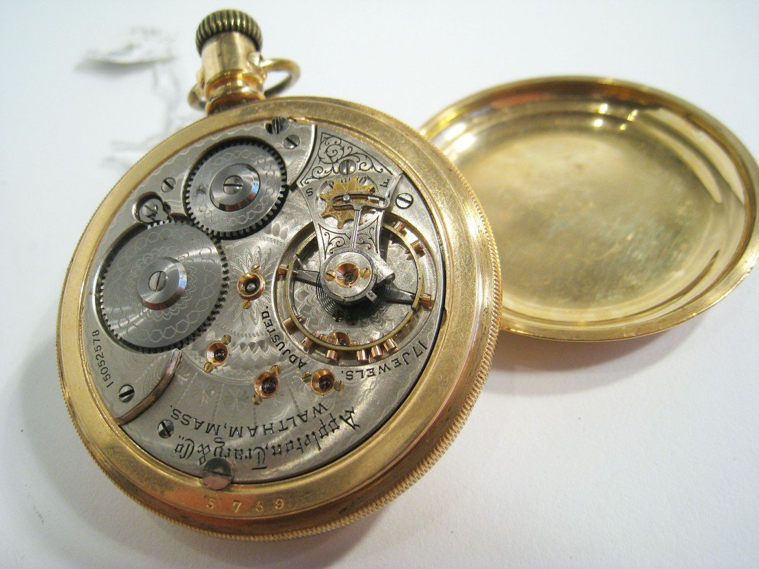 322: Appleton Tracy Co, Waltham Watch  - 3