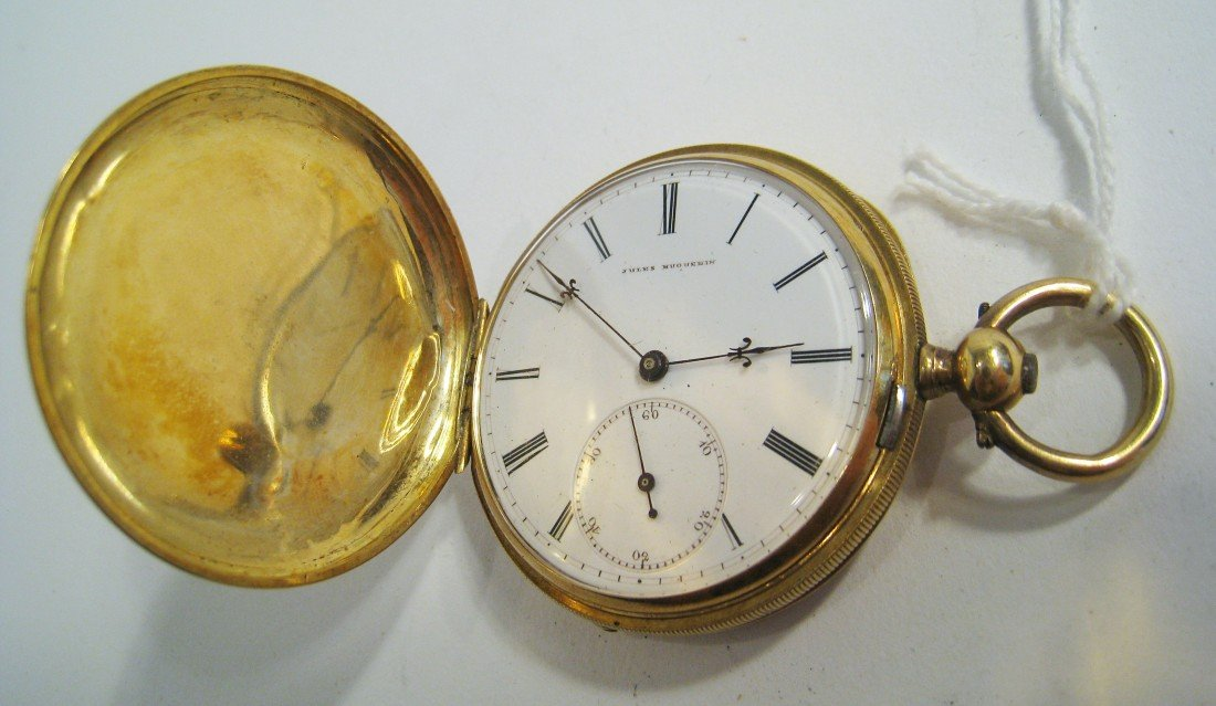 326: Gold Pocket Watch