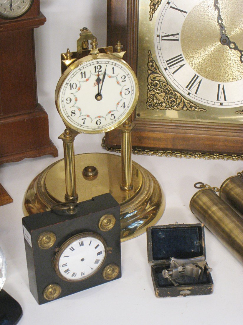420: Group Of Watch Holders And Clock Items - 3