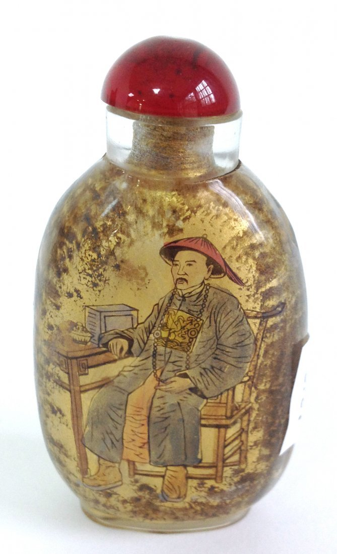 58: Reverse Painted Snuff Bottle