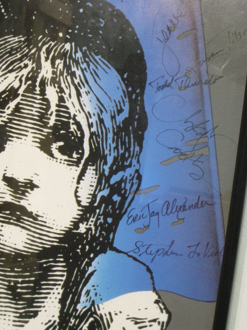 270: Les Miserables Poster Signed By The Cast - 3