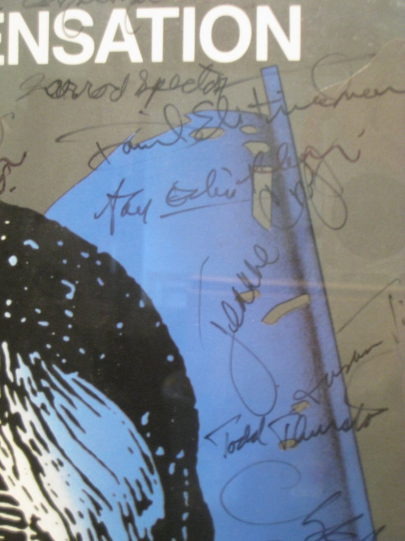 270: Les Miserables Poster Signed By The Cast - 4