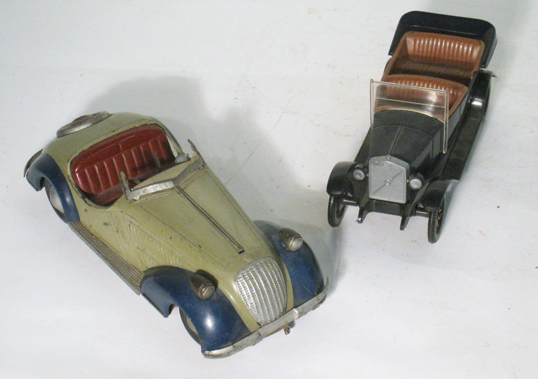 19: Two Model Cars