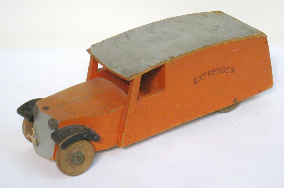 20: Rare Wood Toy Truck