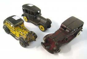 Three Toy Cars.