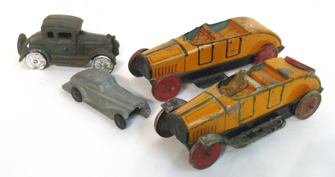 73: Assorted Toy Cars