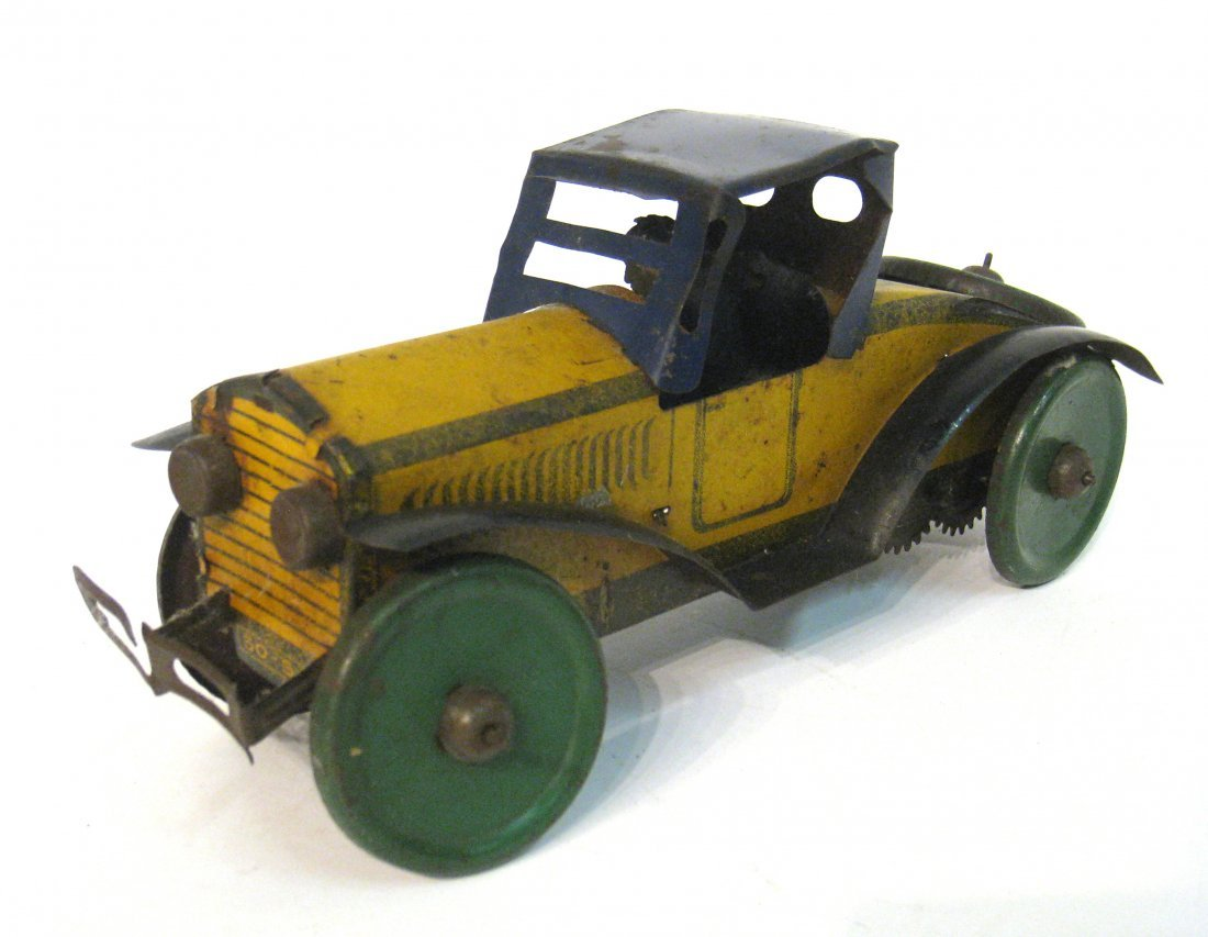 76: Toy Wind Up Racing Car