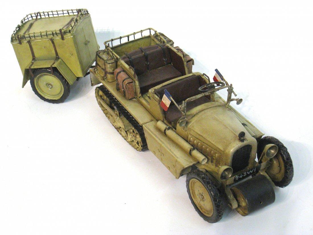 77: Model French Wwii Era Vehicle.