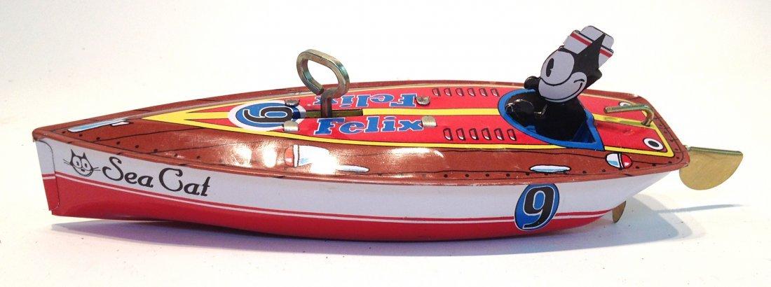 92: Speedboat With Felix The Cat