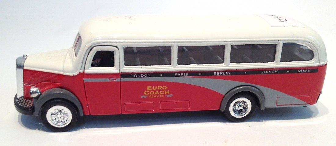 """95: """"Euro Coach"""" Toy Bus"""