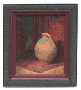 Still Life Painting Signed Arenz