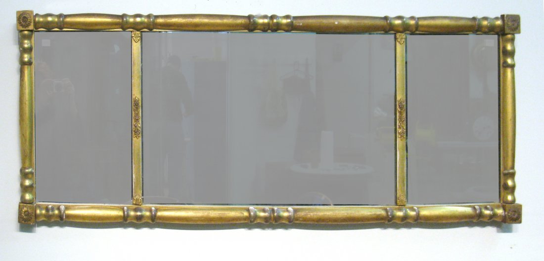 Giltwood Over Mantel Mirror