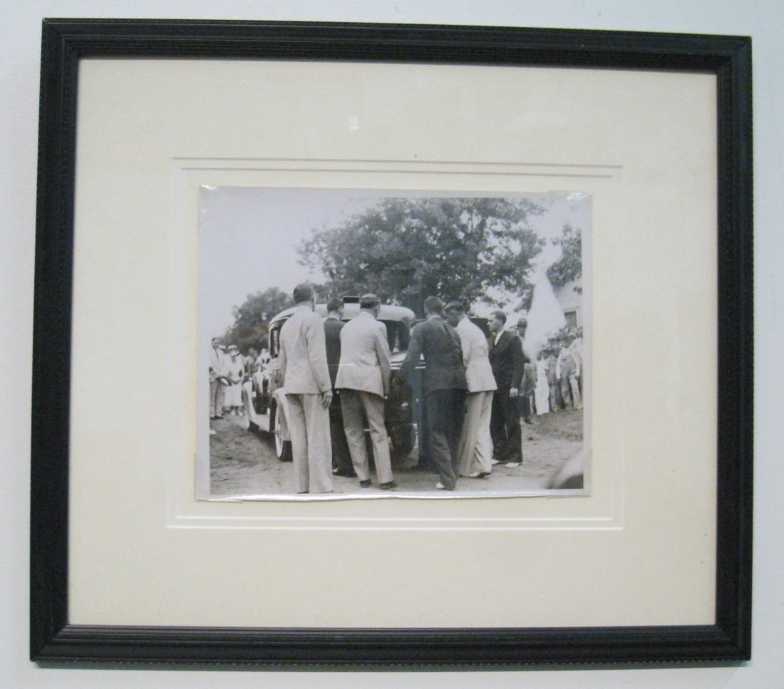 Photo Of Will Rogers' Funeral