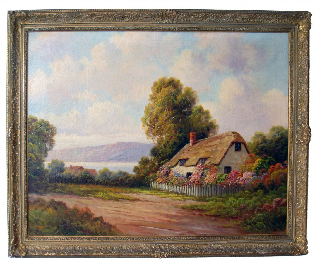 Oil On Canvas By Augustus Spencer