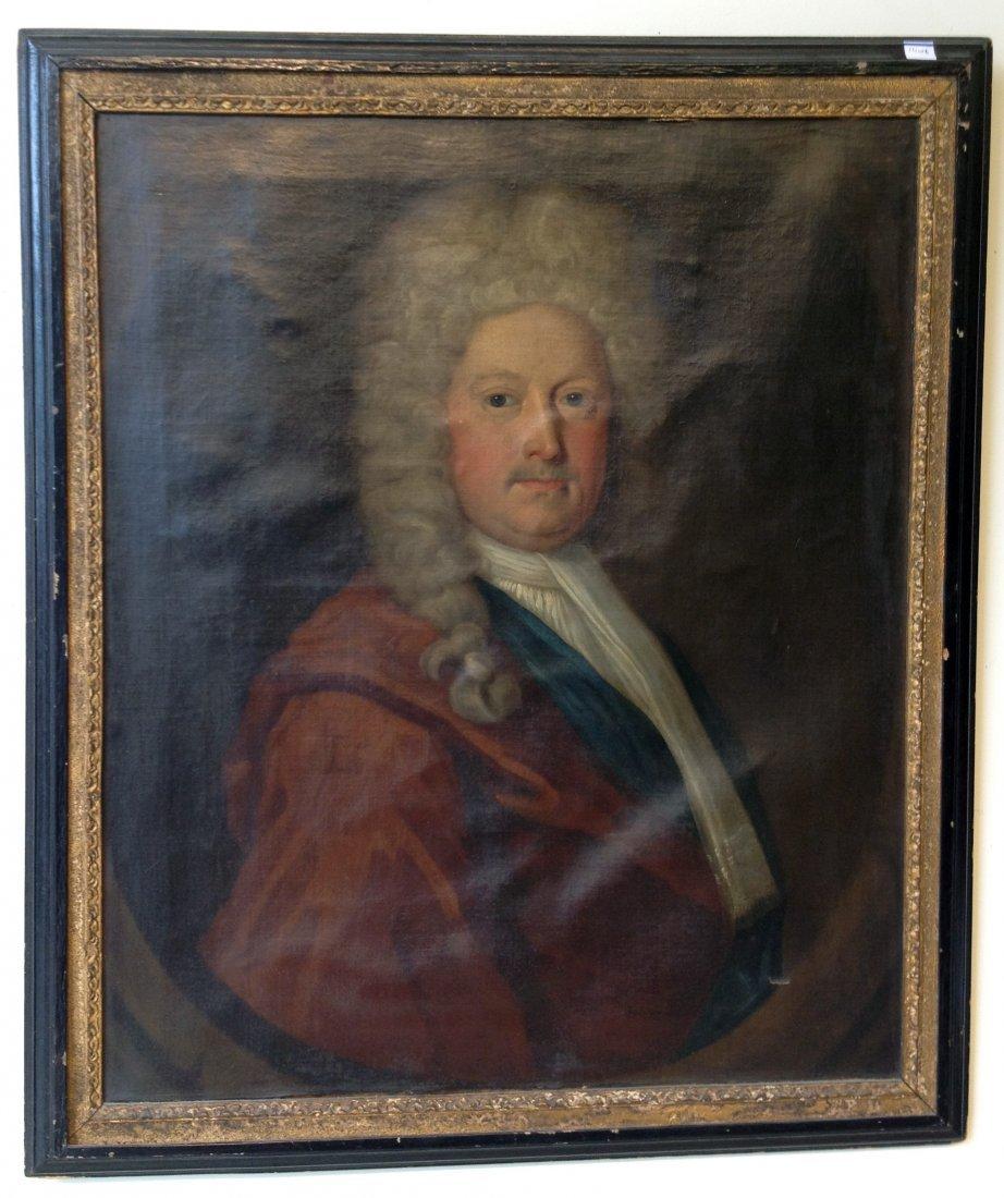 Portrait Of A Bewigged Gentleman