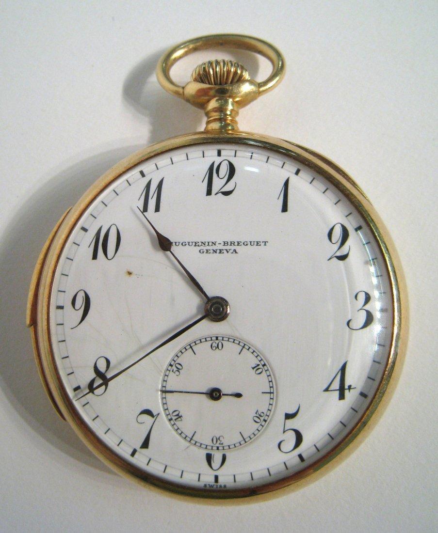Huguenin-Breguet Minute Repeating Pocket Watch