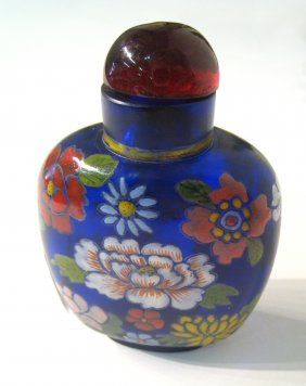 Cloisonné Snuff Bottle