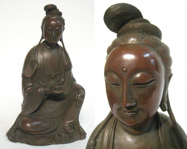 Cast Bronze Buddha