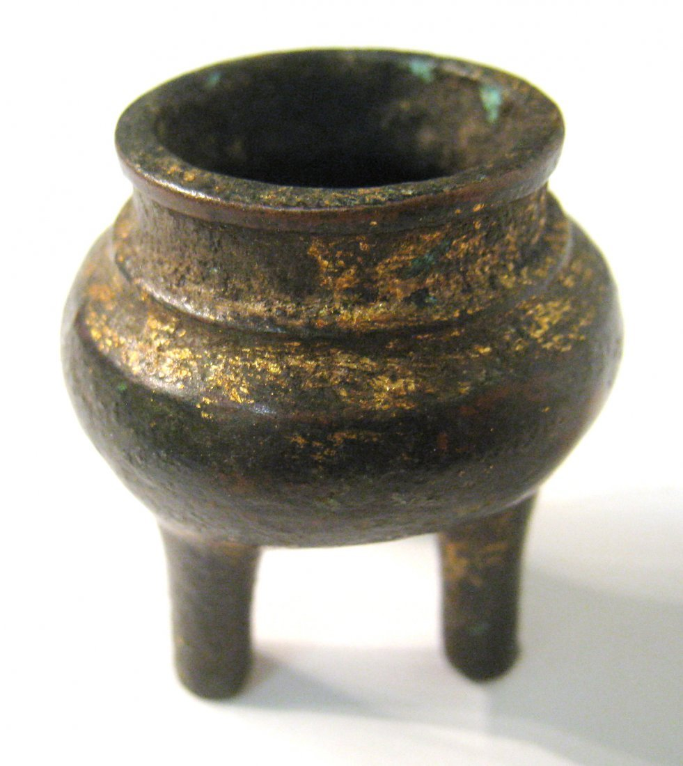Small Chinese Bronze Censor