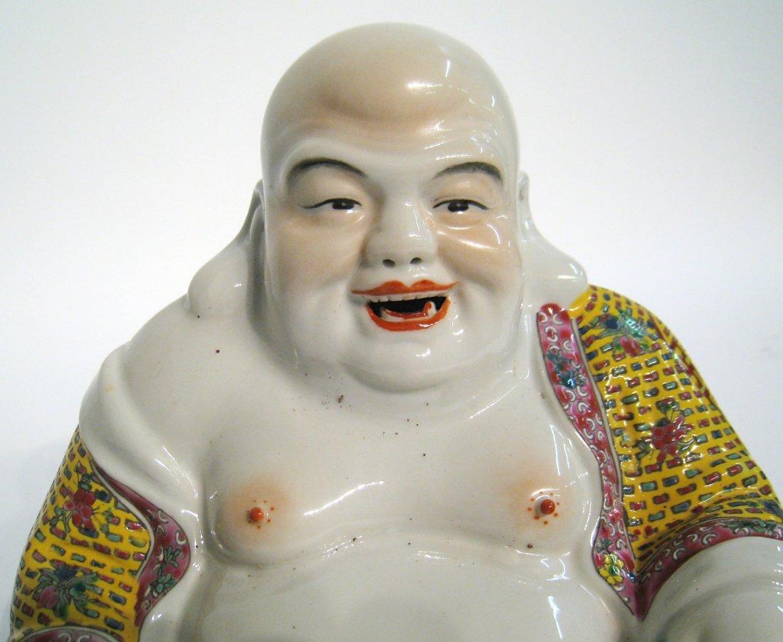 Chinese Ceramic Buddha - 2