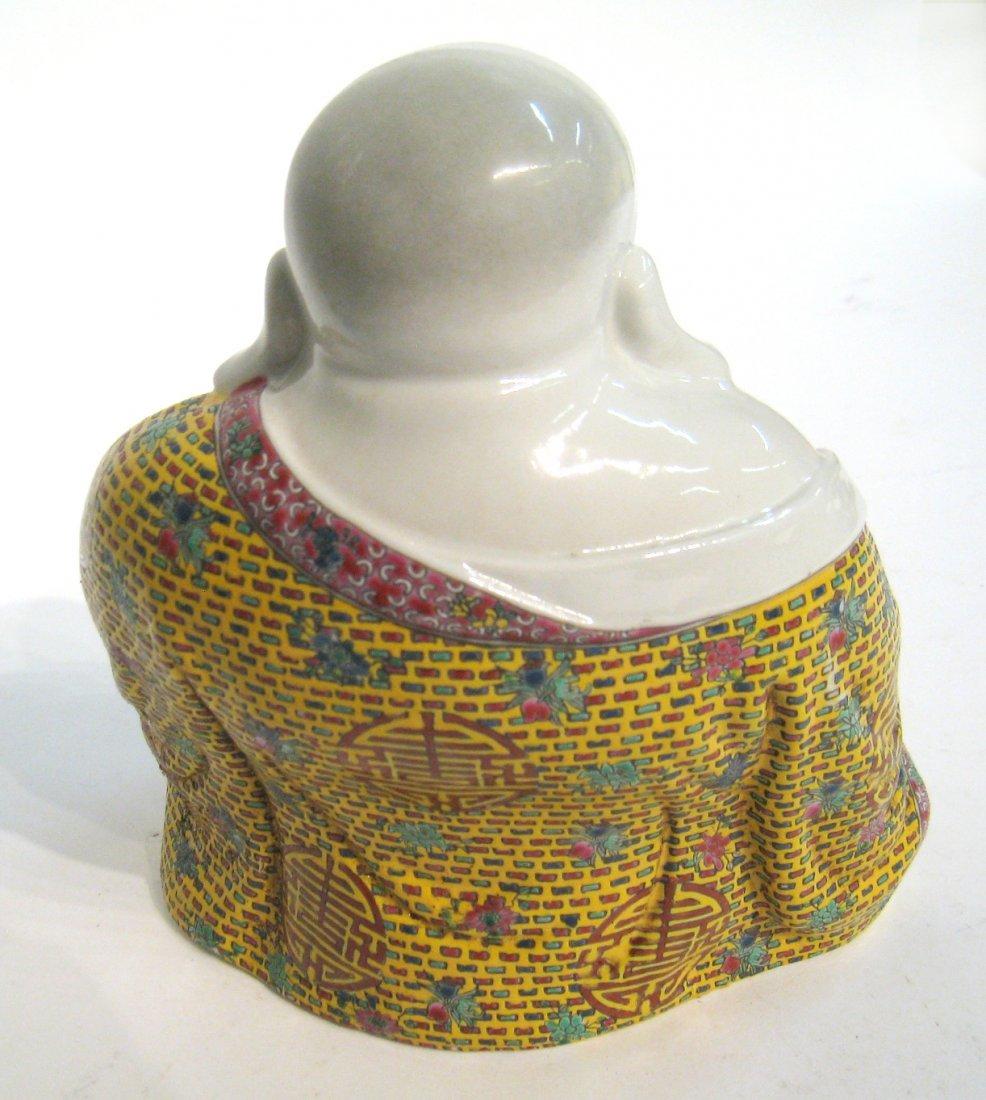 Chinese Ceramic Buddha - 4