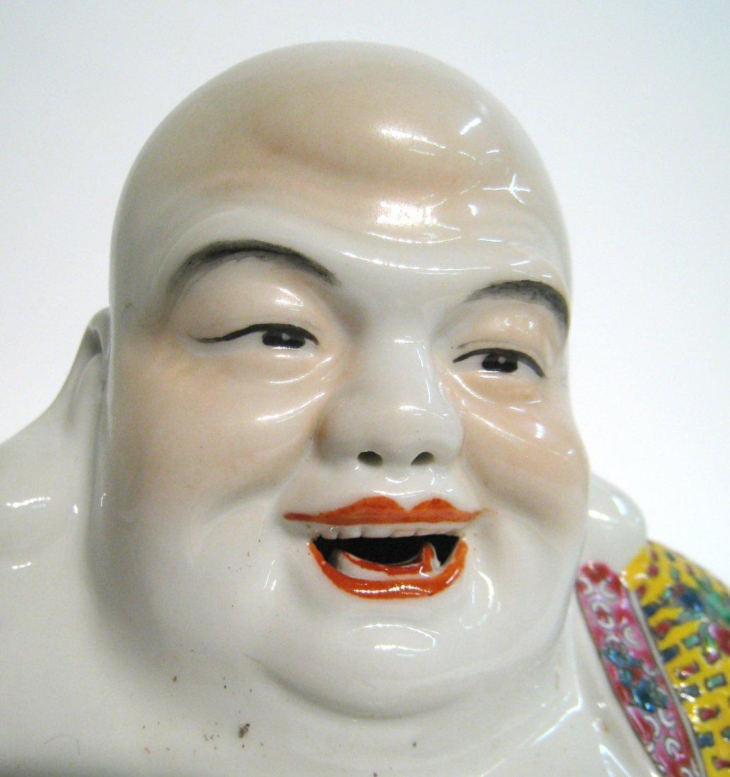 Chinese Ceramic Buddha - 5