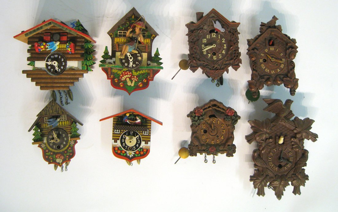 "Collectable ""Cuckoo"" Clocks By Lux"