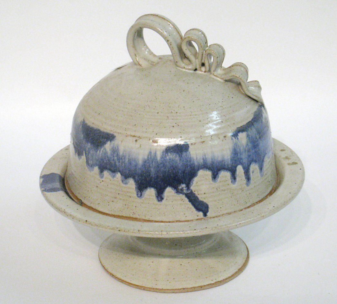 Ceramic Cake Stand And Cover