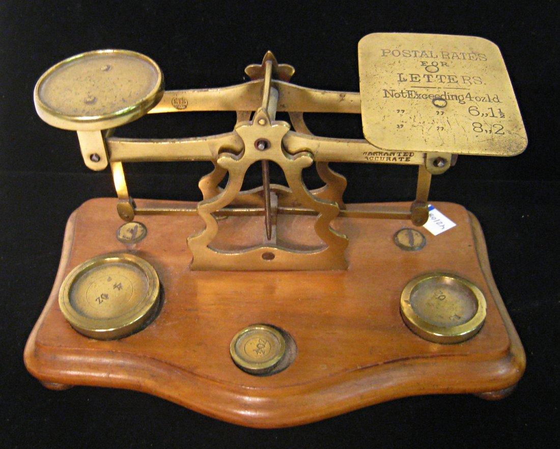 Antique Postal Scale