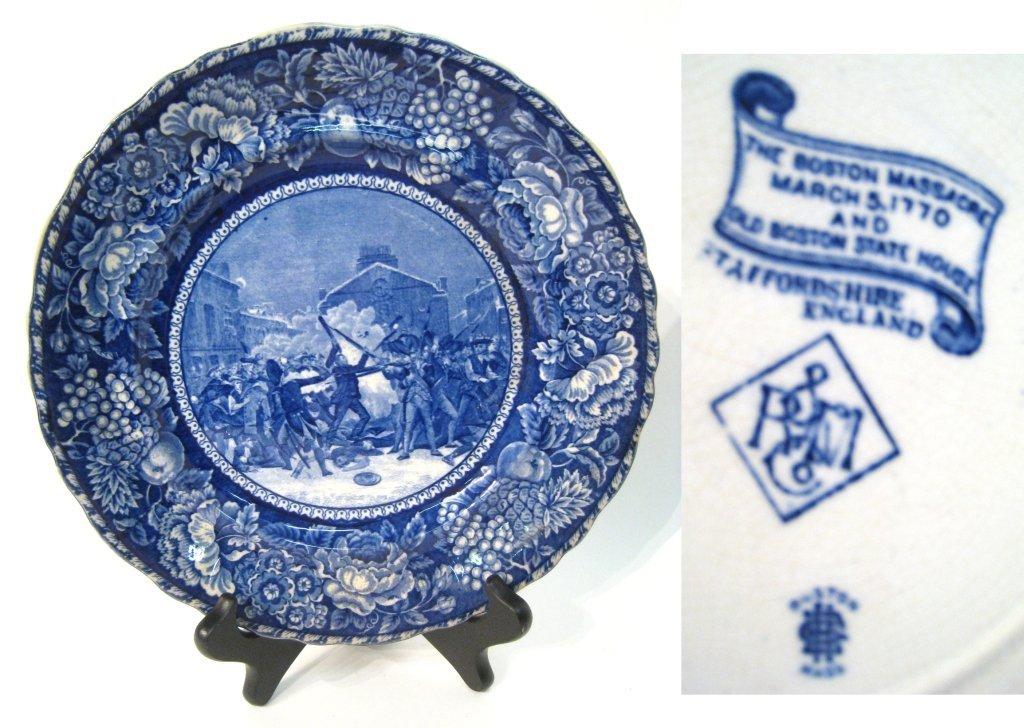 Staffordshire Commemorative Plate