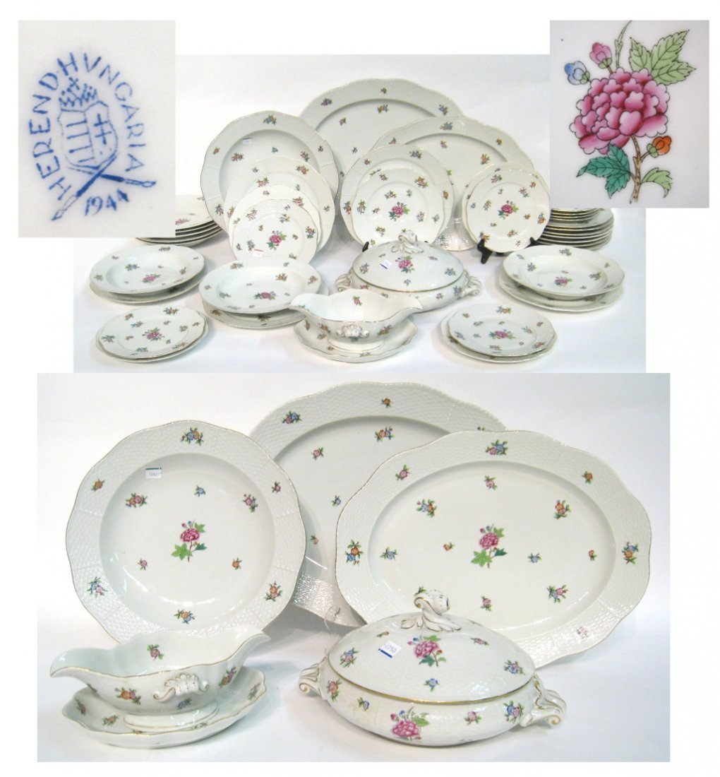 Herend Place Settings and Serving Pieces