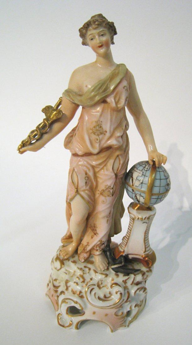 "Porcelain Figurine ""Commerce"""