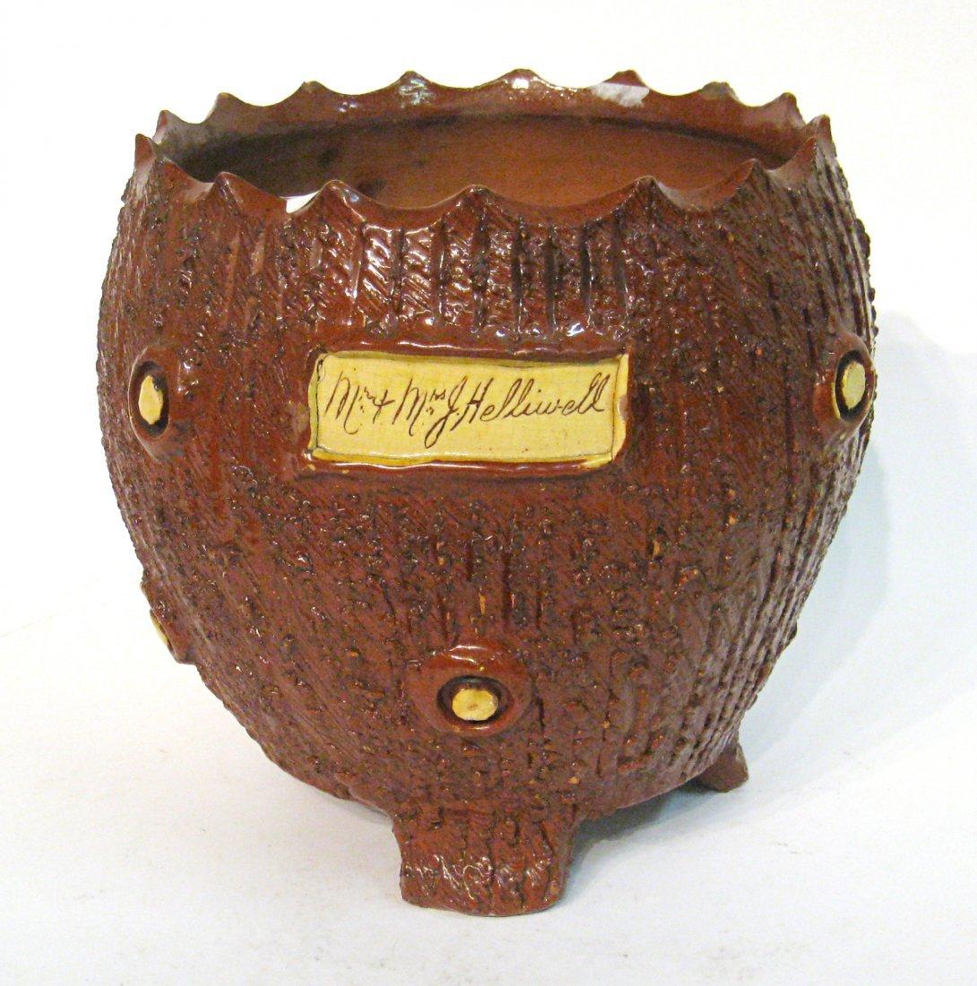 English Ceramic Jardiniere Or Pot